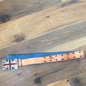 Men's Lucky Brand British flag size 32 belt